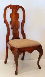 Pair of Queen Anne Chairs For Sale at 1stdibs