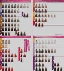 Matrix Socolor Grey Coverage Color Chart
