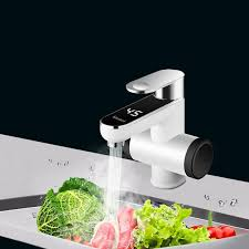 <b>220V Kitchen Electric</b> Water Heater Tap Instant Hot Water Faucet ...