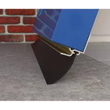garage door seal strip exitex garin bottom draught excluder aluminium