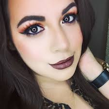 burnt orange fall makeup fall makeup look