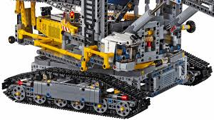 Legos Largest Technic Set Can Dig A Moat Around Your Home Gizmodo Uk