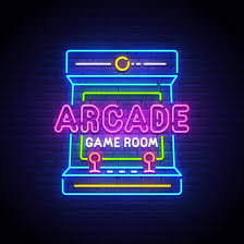 Neon Sign Custom Design Arcade Game Room Led Neon Sign Custom Options Color Size Dimmable Electrical Battery Powered Wall Mounted Desktop Type Hanging In A
