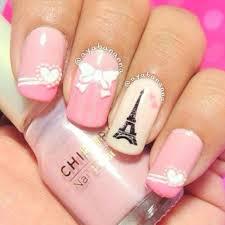 Paris Nails | Girls Bedroom | Pinterest | Paris nails, Manicure ...