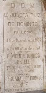VICENTE DOMINGO ORTELLS : Family tree by lidguipil - Geneanet