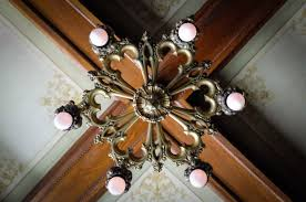 gorgeous light fixtures throughout