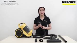 Hướng dẫn sử dụng máy hút bụi Karcher - VC 3 - YouTube