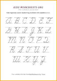 Lettering Stencils To Print Cursive Letter Print Out Free Printable Cursive Alphabet Letters
