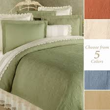 Solid Color Quilts and Matelasse Coverlet Bedding | Touch of Class & Elise Quilted Matelasse Quilt Adamdwight.com