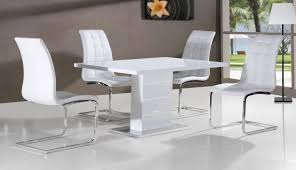 set bench room modern white furniture table chairs enzo splendid square dining light village black gloss