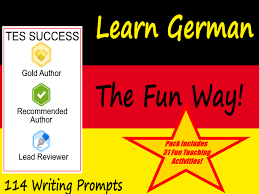 Primary German resources: colours