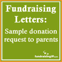 Sample Donation Request Letter To Parents