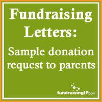 donation request letter school sample donation request letter to parents