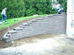 concrete block wall designs how to build a cinder block retaining wall ideas cover concrete best on blocks design cozy concrete cinder block retaining wall