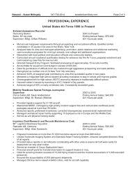 Usajobs Resume Format Federal Government Resume Example Federal ...