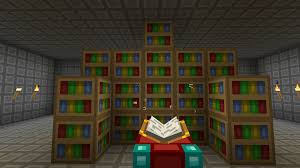 minecraft Is there a height limit on bookshelves enhancing an