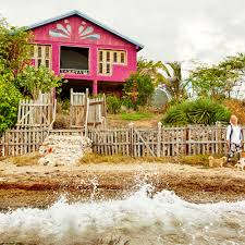 Behind a rambling wood fence along the southwest coast of Jamaica, Sally  Henzell lives in