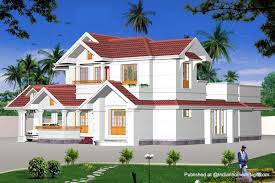 Modern Contemporary Home  Sq Ft Kerala Home Design Modern - House plans with photos of interior and exterior