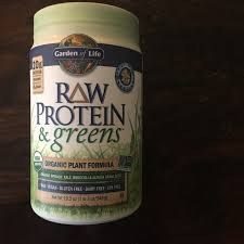 garden of life raw protein greens in vanilla nutritional benefits low sugar