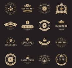 coffee shop logos. Interesting Shop Coffee Shop Logos Badges And Labels Design Elements Set Cup Beans Cafe In Logos S