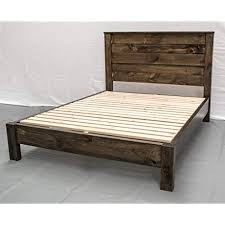 Reclaimed Wood Bed Frames: Amazon.com