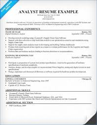 sample resume for business analyst business analyst resume samples publicassets us