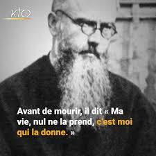 KTO Télévision Catholique - 14 août : fête de saint Maximilien Kolbe |  Facebook