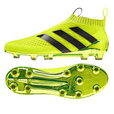 adidas soccer cleats. adidas ace 16+ purecontrol fg soccer cleats (solar yellow/core black/metallic silver) o