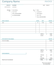 Invoice Template Excel For Vintage Store Signs Unique Best Business ...