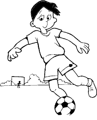 Small Picture Soccer Coloring Pages Coloring Page Blog
