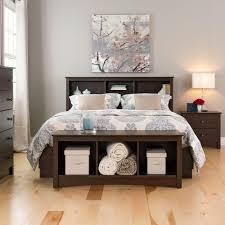 Prepac Bedroom Furniture Prepac Fremont Espresso Double Queen Headboard Esh 6643 The Home
