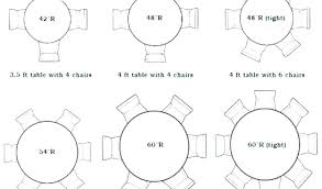 round table seats 4 ft round table tulip table seats 6
