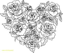Floral Coloring Pages Beautiful Flowers Bouquet Page Free Printable