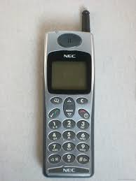 NEC DB2000 ( Mi primer móvil ...