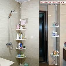Telescopic Shower Corner Shelves Unique DNY© 32cm32cm 32 Tier Adjustable Stainless Telescopic Shower