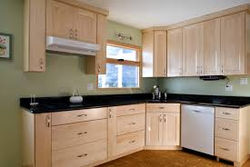 Great Alder Wood Nutmeg Yardley Door Natural Maple Kitchen Cabinets Backsplash  Mirror Tile Stainless Teel Laminate Countertops
