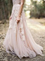 blush wedding dresses for the modern bride mywedding