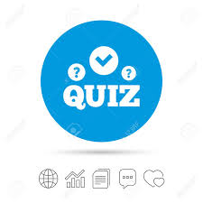 Quiz With Check And Question Marks Sign Icon Questions And Answers