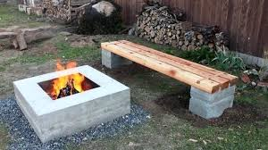 block fire pit amazing concrete block fire pit how to make outdoor concrete and wood bench fire pit patio block project kit block fire pit kit