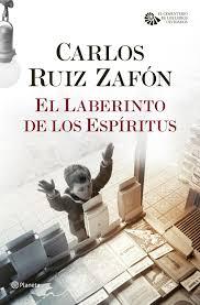 imagenes de libro el laberinto de los espiritus carlos ruiz zafon comprar libro