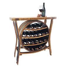 Image Stave Central Coast Creations 17 Bottle Wine Barrel Wine Rack Wine Barrel Handcrafted Wine Barrel Furniture Amazoncom Central Coast Creations 17 Bottle Wine Barrel Wine Rack Wine
