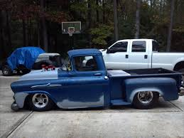BAD ASS 1958 APACHE BAGGED DRAG TRUCK TRIBUTE for sale in Houston ...