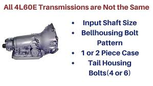 4l80e Transmission Interchange Chart Are All 4l60e Transmissions The Same Drivetrain Resource