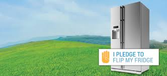energy efficient refrigerators energy star an image of a refrigerator i pledge to flip my fridge