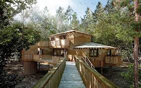Longleat Treehouses Lounge  Picture Of Center Parcs Longleat Longleat Treehouse