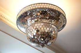disco ball chandelier shiny tour apartment crystal