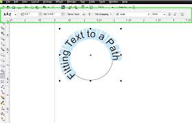 Placing Text on a Path in CorelDRAW - Print