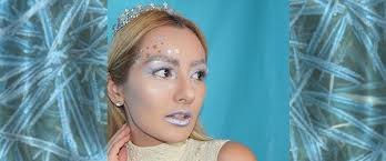 we love this ice princess makeup tutorial once your makeup is on all you need is a sparkly dress and tiara to make your look plete