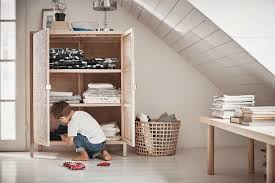 ikea stockholm furniture. IKEA Stockholm 2017 Boy Playing With Toys In Front Of Rattan Mesh Storage  Cupboard Ikea Stockholm Furniture E