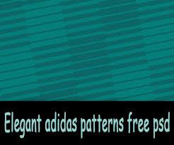 Free Download Elegant Adidas Patterns Psd Graphics Design
